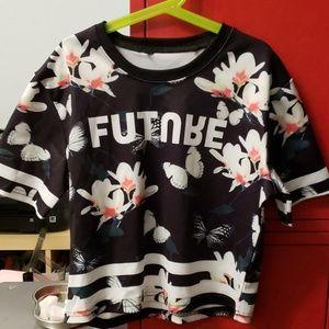Flower/butterfly shirt